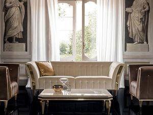 DIAMANTE Sofa, Raffiniertes Sofa für Wohnzimmer