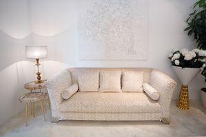 Ducale, Klassisches Sofa mit edlen Stoffen bezogen