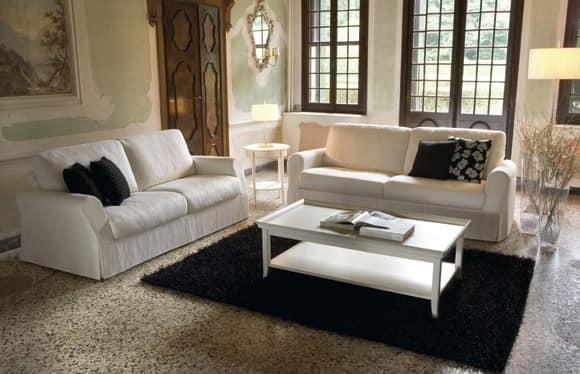 holz sofa mit elastischen b ndern idfdesign. Black Bedroom Furniture Sets. Home Design Ideas