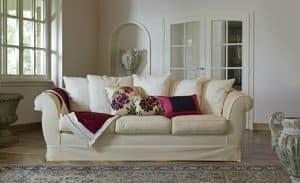 Ettore, Sofa für klassischen Stil Wohnzimmer