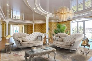 GISELLE, Gewundenes und elegantes Sofa