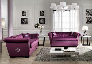HENDRIX, Sofa mit zwei oder drei Sitzen