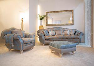 Ibisco Ring, Sofa im klassischen zeitgenössischen Stil