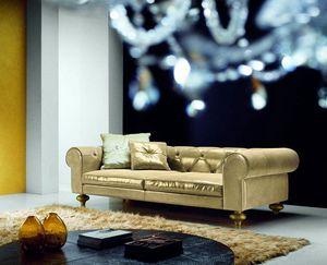Joyce, Luxuriöses Sofa mit nüchterner Eleganz