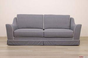 Marte Sofa, Sofa mit weichen Linien im klassischen Stil, vollständig abziehbar