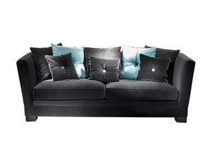 Menelao, Sofa mit abnehmbaren Bezügen, mit Kissen