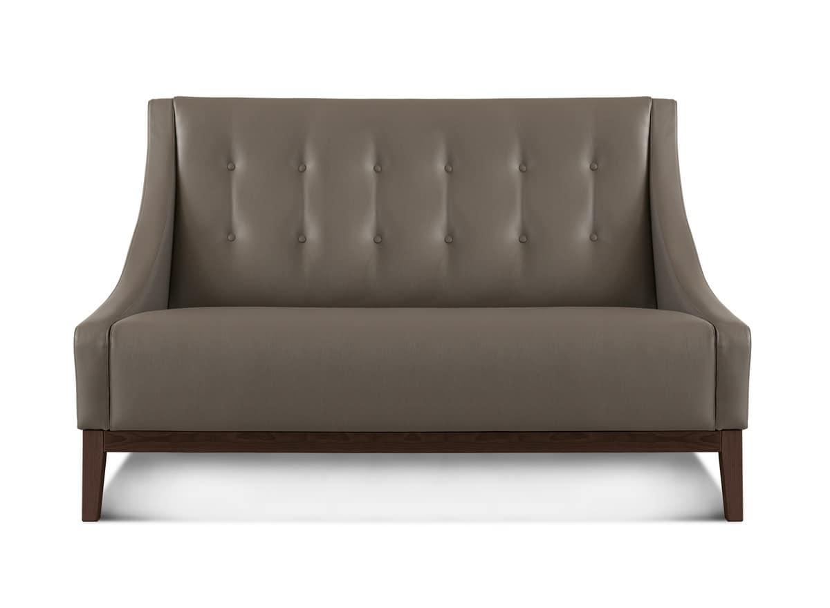 sofa mit klassischem design idfdesign. Black Bedroom Furniture Sets. Home Design Ideas