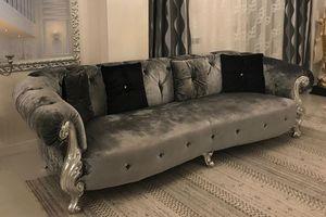 Oceano grau, Sofa in Brianza, Italien hergestellt
