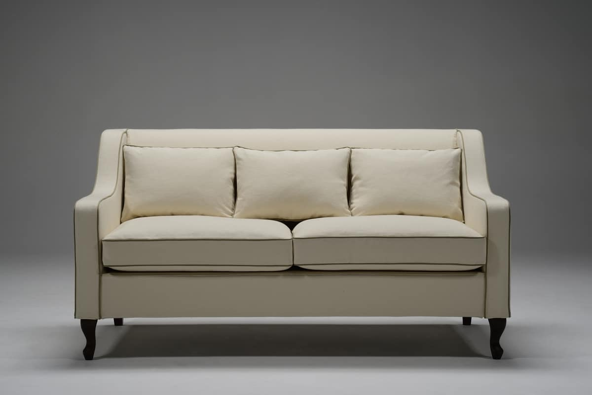 Klassisches Sofa Mit Drei Sitzen Idfdesign