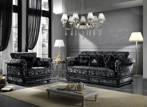 OXFORD, Sofa mit elegantem Stoff