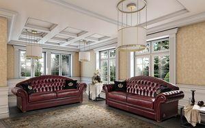 PANAREA Sofa, Harmonisches Sofa im klassischen Stil