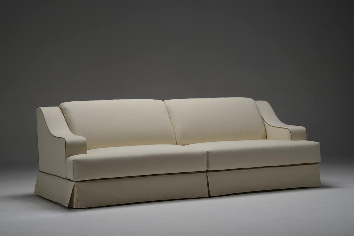sofa f r wohnzimmer mit zwei drei und vier sitze idfdesign. Black Bedroom Furniture Sets. Home Design Ideas