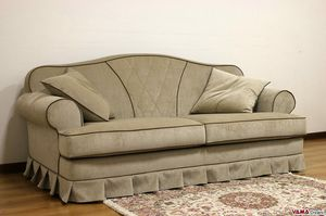 Plutone Sofa, Repräsentatives klassisches Sofa mit raffiniertem Stil