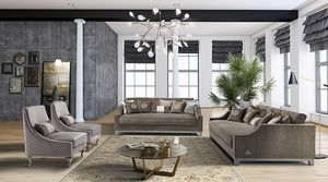 ROYAL Sofa, Elegantes Sofa mit Sitzen in Memory-Schaum