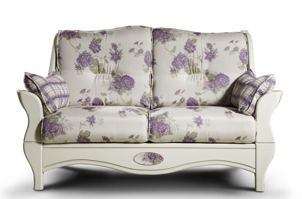 zweisitzer sofa country stil idfdesign. Black Bedroom Furniture Sets. Home Design Ideas