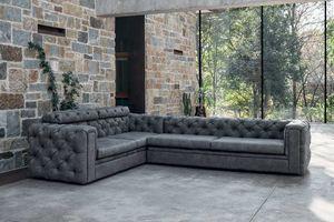STUART, Gestepptes Sofa, zeitgenössischer klassischer Stil