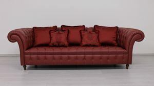 Swing Sofa, Sofa im englischen Chesterfield-Stil