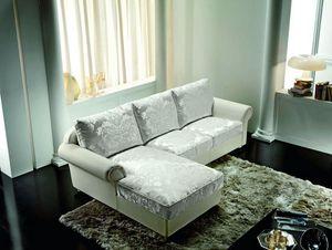 Tiffany, Klassisches Sofa mit Chaiselongue