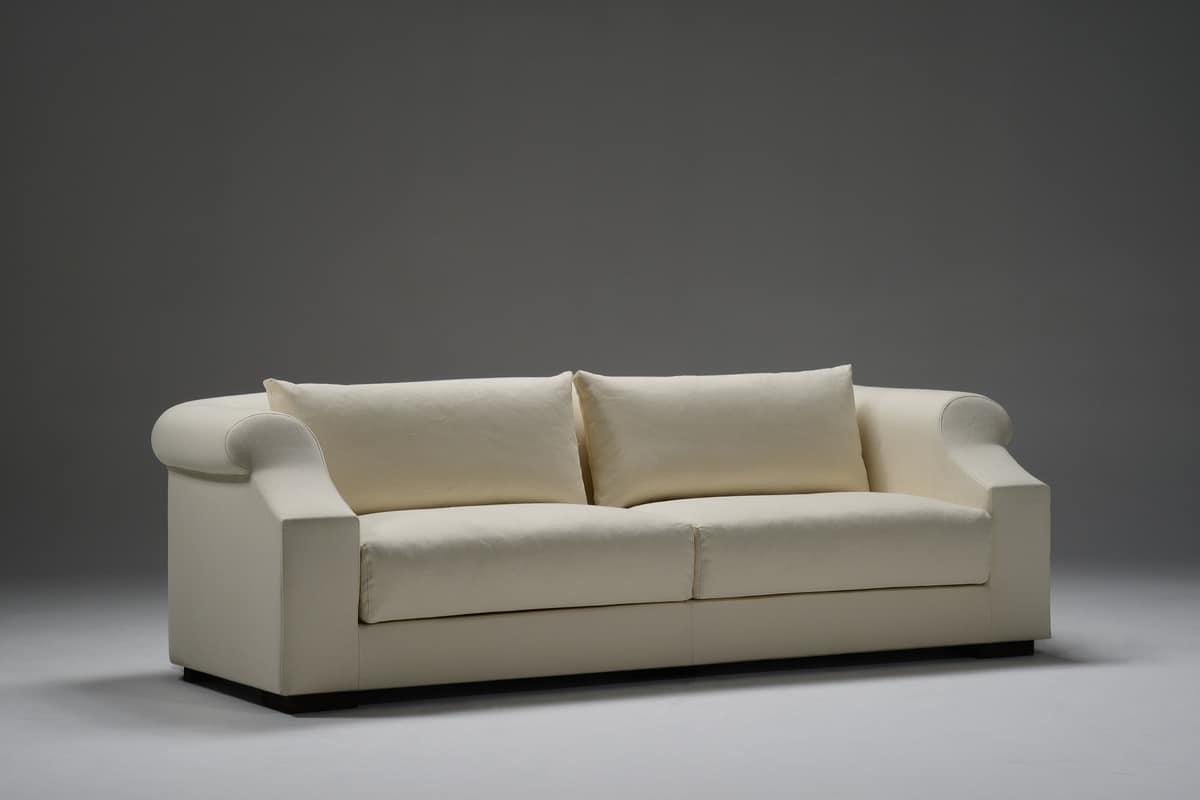 Ville Lumière, Feine Sofa In Stoff Gepolstert, Für Moderne Wohnzimmer