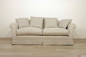 Ville Sofa, Elegantes Sofa aus abnehmbarem Stoff