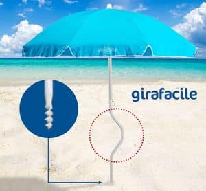 Patentierter Sonnenschirm Girafacile – GF180COT, Sonnenschirm