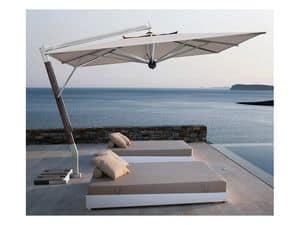 Giotto arm, Sonnenschirm mit Seitenarm für Terrasse