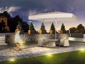 Milano standard, Sonnenschirm für Garten