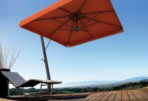 Napoli arm, Sonnenschirm für Gärten, mit Aluminium-Struktur
