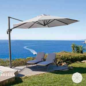 Professionelle Gartenschirm Paradise – PA300UVA, Sonnenschirm mit dezentralen Stützstange