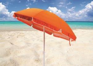 Doppelzimmer Sonnenschirm Meer Baumwolle – TR200COT, Parasol in Stahl und Stoff für den Strand geeignet