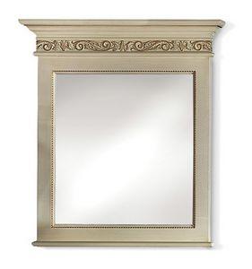 4023, Spiegel mit geschnitztem Fries