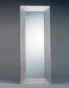 Art. 20303, Rechteckiger Spiegel mit silbernem Rahmen