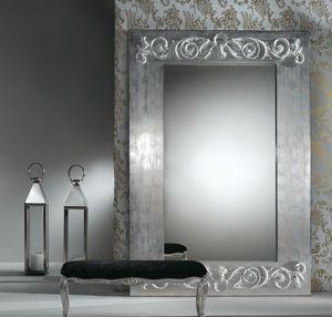 Art. 20752, Spiegel mit Dekorationen auf dem Rahmen
