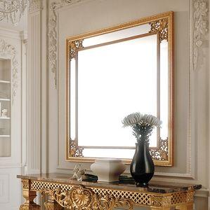 Art. 286/S, Quadratischer Spiegel mit Zierrahmen