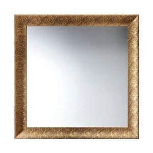 Art. AS357, Quadratischen Spiegel mit Rahmen, für Restaurants