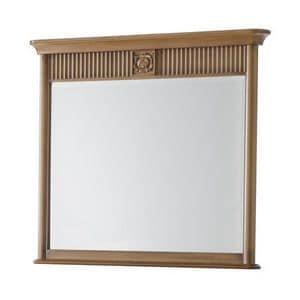 Art. CA721, Rechteckiger Spiegel mit Rahmen, ideal für Kommode