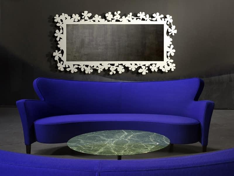 Nacht in suspension metallbasis glasplatte idfdesign - Specchi particolari da parete ...