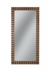 Gold rechteckiger Spiegel, Rechteckiger Spiegel mit Rahmen