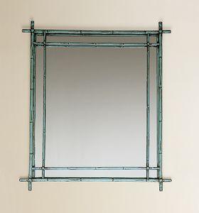 HF2011MI, Quadratischer Spiegel mit Rahmen