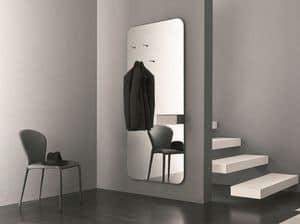 k195 hally, Spiegel mit Lagerung ideal für den Eintrag des Hauses