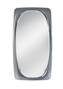 Orfeo Spiegel, Spiegel mit Glasrahmen