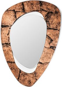 Vintage Spiegel, Zeitgenössischer Spiegel mit Eisenrahmen