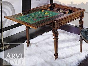 Canaletto Spieltisch, Spieltisch mit austauschbarem Oberteil