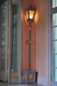 Alten venezianischen LAMP ART. LM 0052, Alten venezianischen Lamp handgeschnitzten,