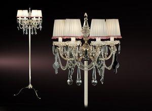 Art. Lunetta Cp, Böhmische Kristall Stehlampe
