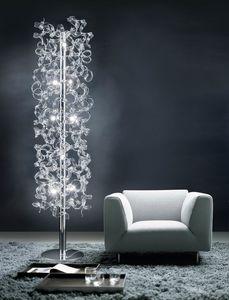 ASTRO H 170, Bodenlampe aus Metall und Glas