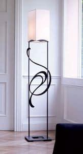 Genesis, Eisen Stehleuchte ideal für klassische und elegante