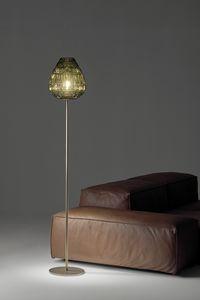 Reflex, Stehlampe aus mundgeblasenem Glas