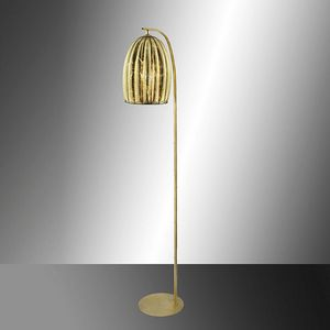 Salice Rp429-185, Stehlampe in Blattgold Kristall