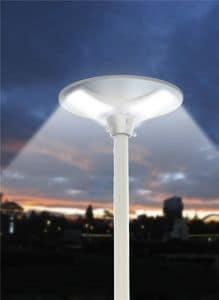 Straßenlaterne Solar LED Place - LS040LED, Außenlampe, mit Sonnenkollektor
